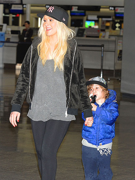 WINGING IT photo | Christina Aguilera