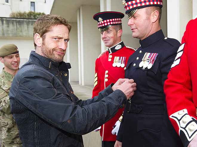 SOLDIERING ON photo | Gerard Butler