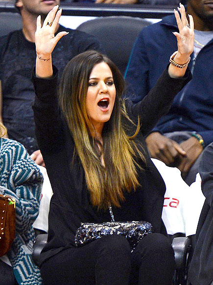 MAJOR MOMENT photo | Khloe Kardashian