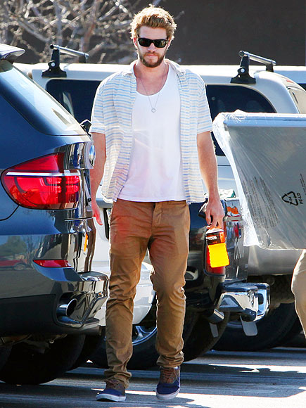 HANDY MAN photo   Liam Hemsworth