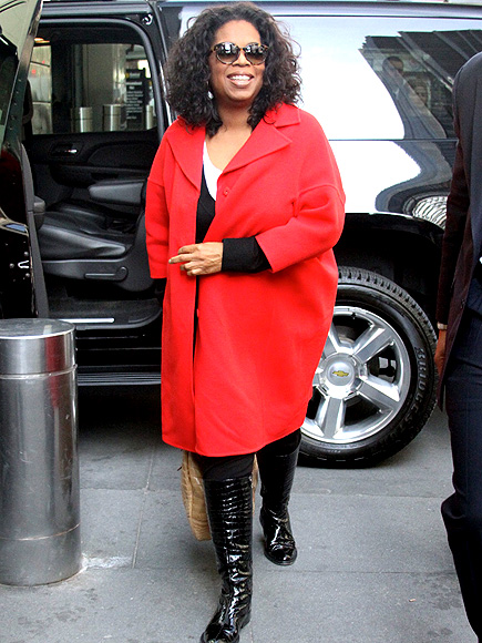 LADY IN RED photo | Oprah Winfrey
