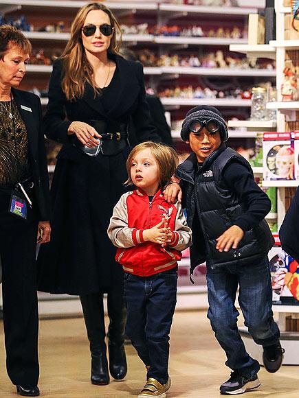 GAME ON photo | Angelina Jolie