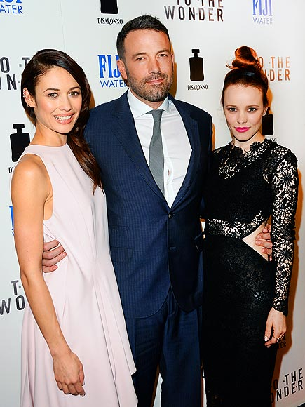 THREE'S COMPANY photo | Ben Affleck, Olga Kurylenko, Rachel McAdams