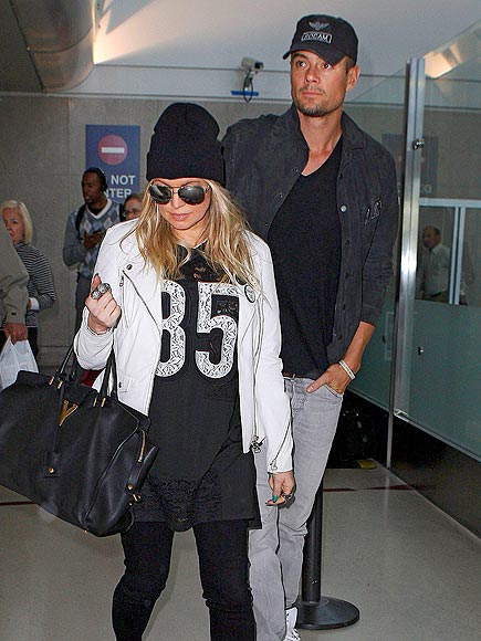 PLANE & SIMPLE photo | Fergie, Josh Duhamel