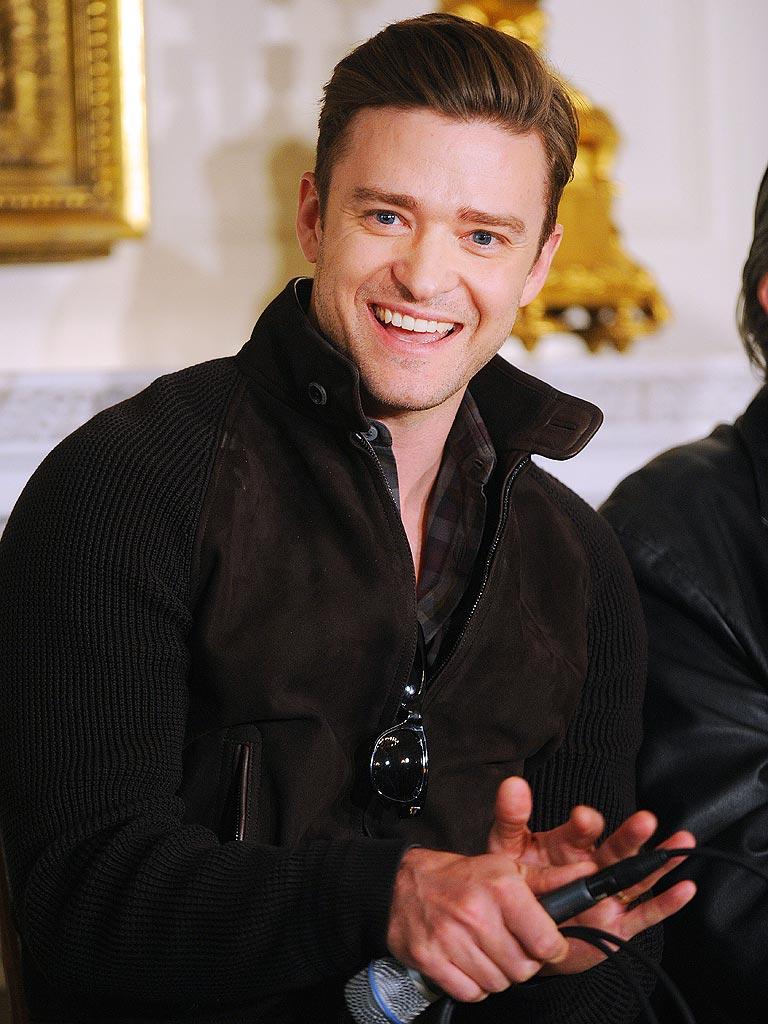 Justin Timberlake Justin Timberlake Smiling