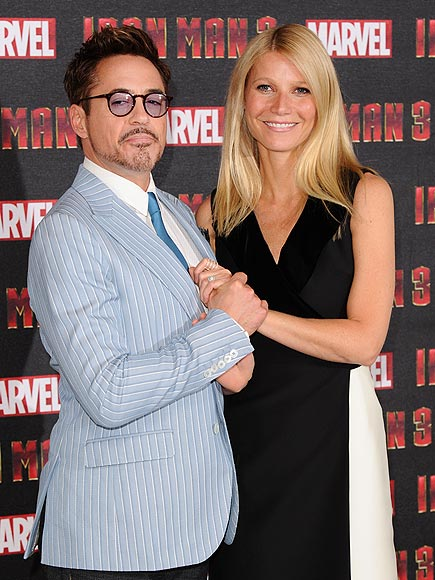 HOLD ON photo | Gwyneth Paltrow, Robert Downey Jr.