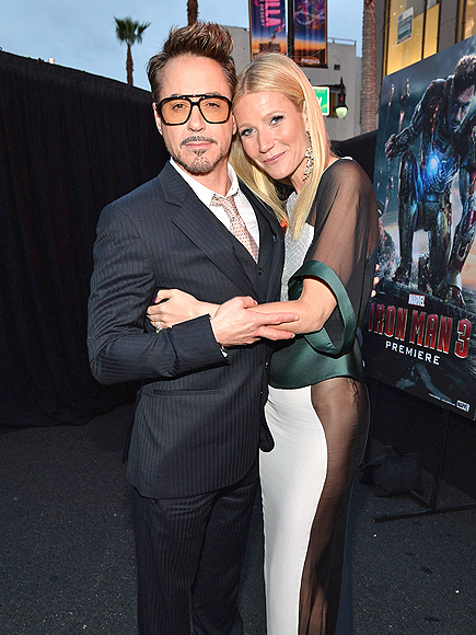 ARM-Y STRONG photo | Gwyneth Paltrow, Robert Downey Jr.