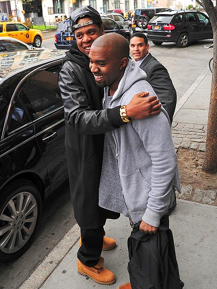 HUG IT OUT photo | Jay-Z, Kanye West