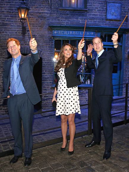 WAND-ERLUST photo | Kate Middleton, Prince Harry, Prince William