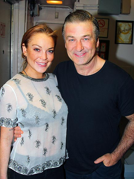 PHOTO FINISH photo | Alec Baldwin, Lindsay Lohan
