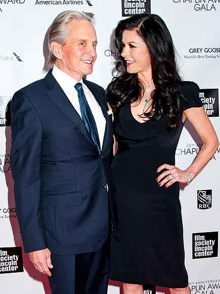 HERE'S LOOKING AT YOU photo | Catherine Zeta-Jones, Michael Douglas