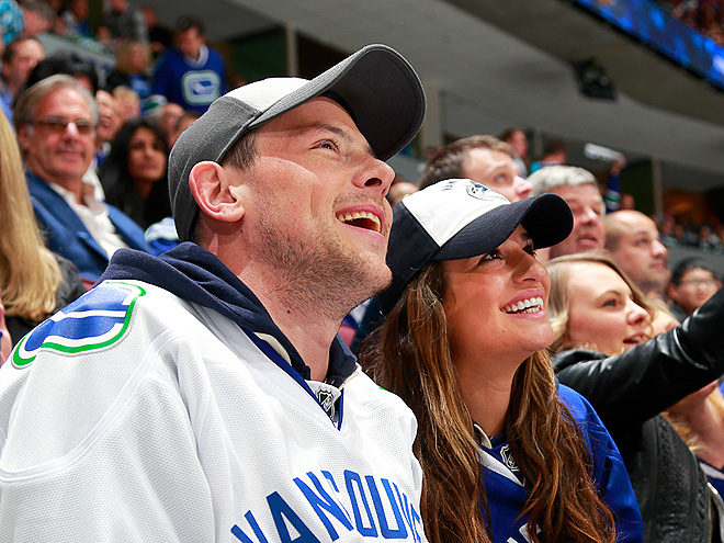 HAPPY FACES photo | Cory Monteith, Lea Michele