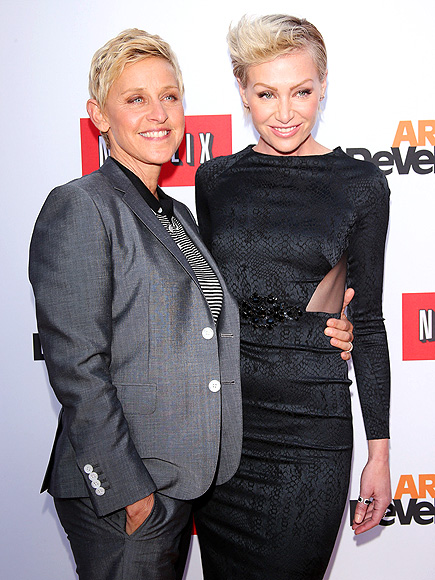 TWO OF A KIND photo | Ellen DeGeneres, Portia de Rossi