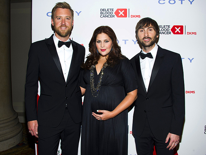 IN THE BLACK photo | Charles Kelley, Dave Haywood, Hillary Scott, Lady Antebellum