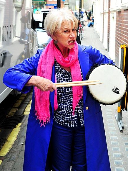 DRUM ROLL, PLEASE photo | Helen Mirren