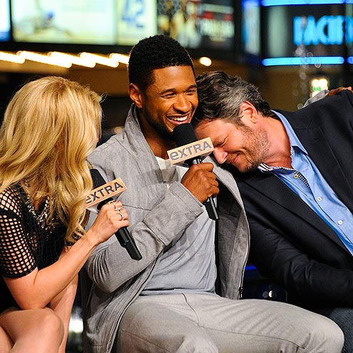 SNOOZE BUTTON photo | Blake Shelton, Shakira, Usher
