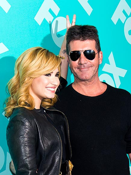 JUDGMENT DAY photo | Demi Lovato, Simon Cowell
