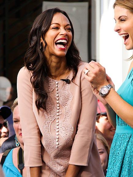 LAUGH FACTORY photo | Zoe Saldana