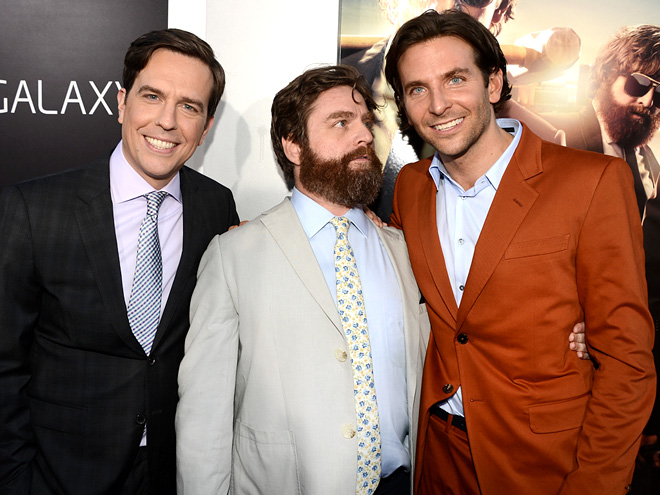 FULL SUIT photo | Bradley Cooper, Ed Helms, Zach Galifianakis
