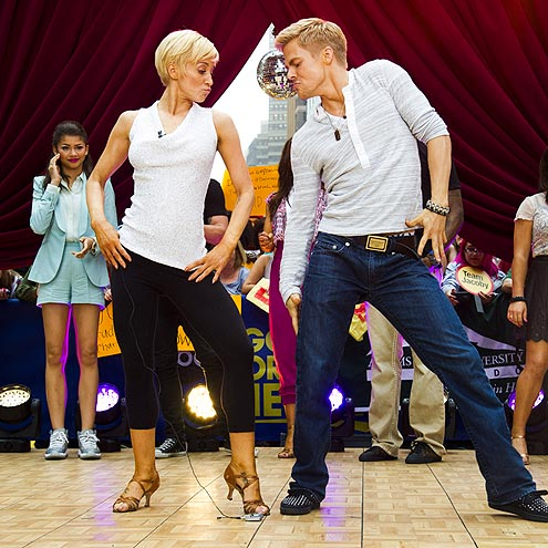 WINNING MOVES photo | Derek Hough, Kellie Pickler