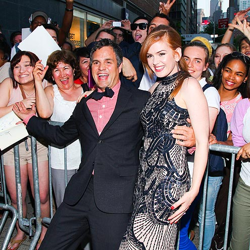 HAPPY SIGHT photo | Isla Fisher, Mark Ruffalo