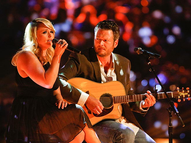GUITAR HERO photo | Blake Shelton, Miranda Lambert