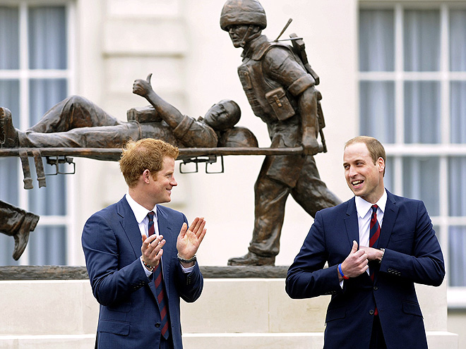 HELPING HANDS photo | Prince Harry, Prince William