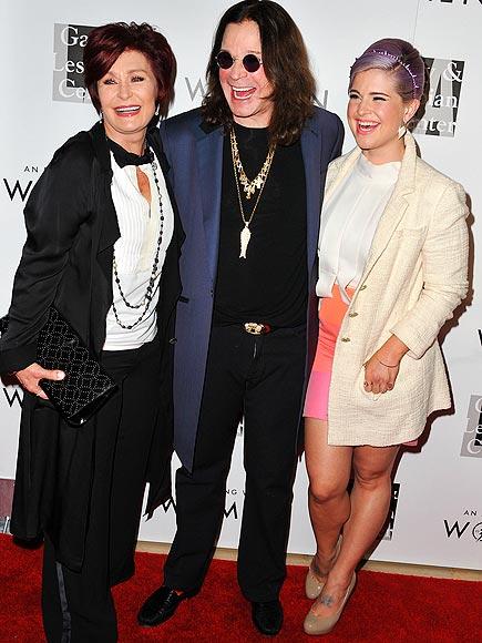 LADIES' NIGHT photo | Kelly Osbourne, Ozzy Osbourne, Sharon Osbourne