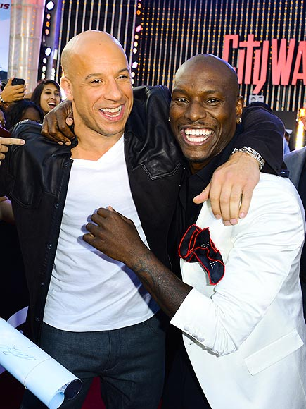 FAST FRIENDS photo | Tyrese, Vin Diesel