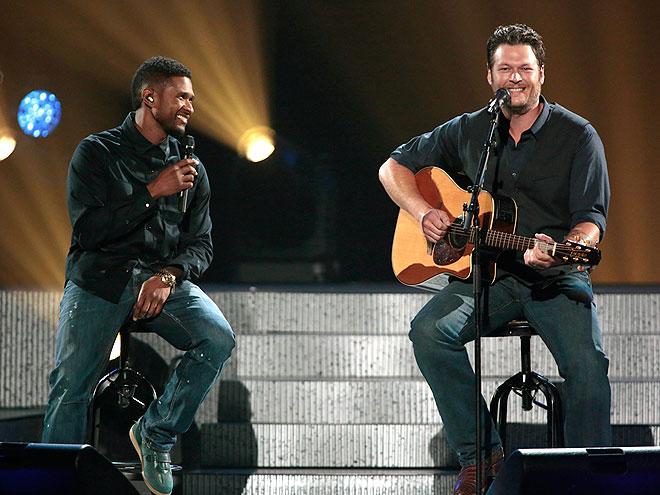 COUNTRY STRONG photo | Blake Shelton, Usher
