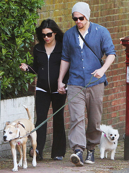 ON A SHORT LEASH photo | Channing Tatum, Jenna Dewan