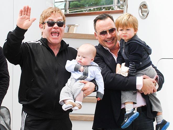 WE ARE FAMILY photo | Elton John
