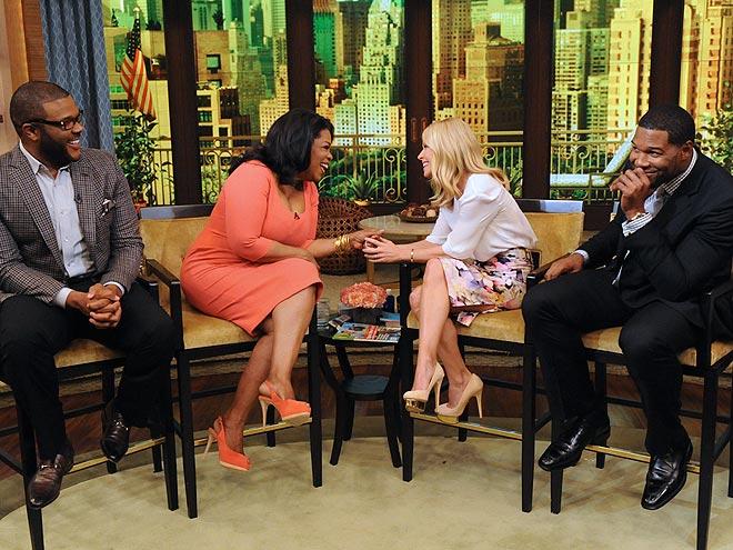 BOYS ON THE SIDE photo | Kelly Ripa, Michael Strahan, Oprah Winfrey