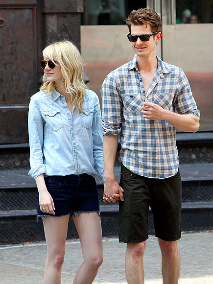 IN SHORT ORDER photo | Andrew Garfield, Emma Stone
