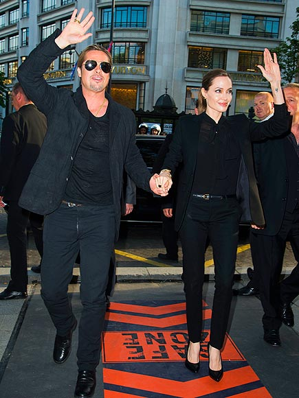 FRENCH DRESSING photo | Angelina Jolie, Brad Pitt