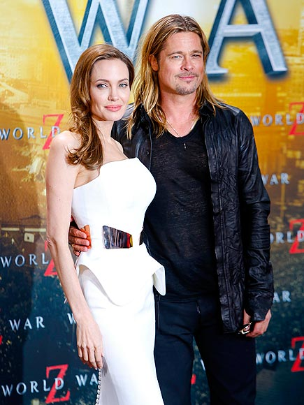 SUMMER SIZZLE photo | Angelina Jolie, Brad Pitt