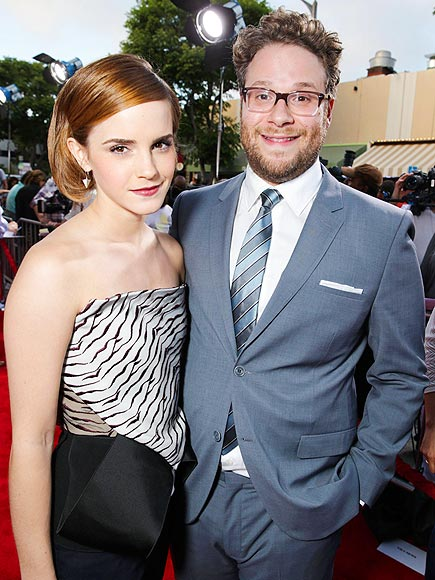 BUDDY COMEDY photo | Emma Watson, Seth Rogen
