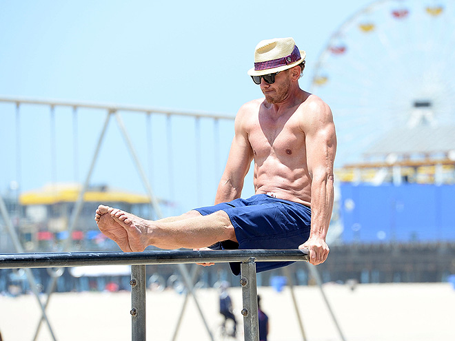 MUSCLE BEACH photo | Ian Ziering