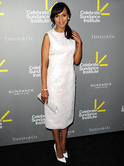 WHITE ON! photo | Kerry Washington