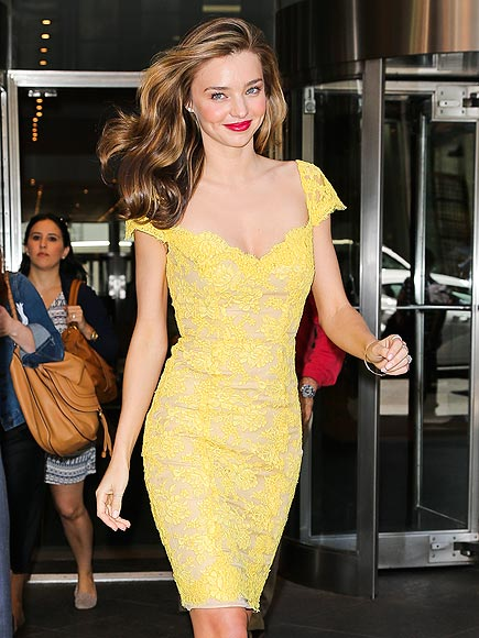 LACE TO THE FINISH photo | Miranda Kerr