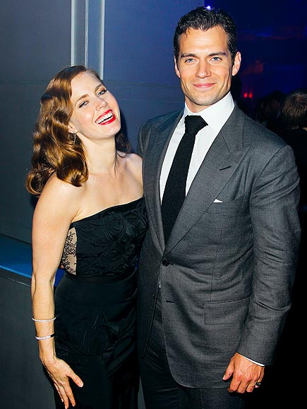 'MAN' OF THE HOUR photo | Amy Adams, Henry Cavill