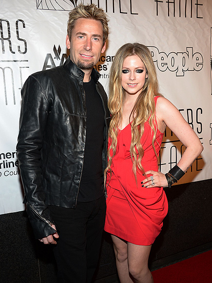 FAME GAME photo | Avril Lavigne, Chad Kroeger