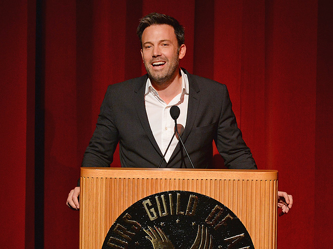 SPEECH! SPEECH!           photo | Ben Affleck