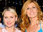 Naomi & Connie Color Up | Connie Britton, Naomi Watts