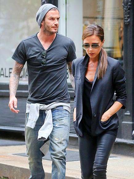 JUST LOOKING photo | David Beckham, Victoria Beckham
