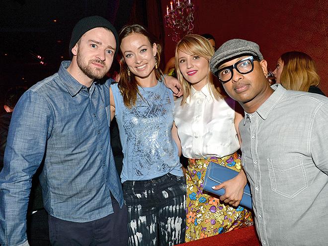 MUSIC-MINDED photo | Dianna Agron, Justin Timberlake, Olivia Wilde