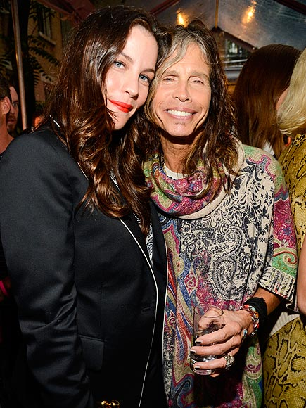 UP CLOTHES & PERSONAL photo | Liv Tyler, Steven Tyler