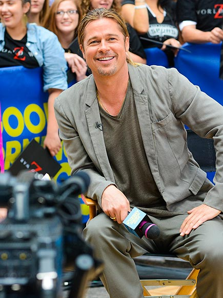 GOING GRAY photo | Brad Pitt