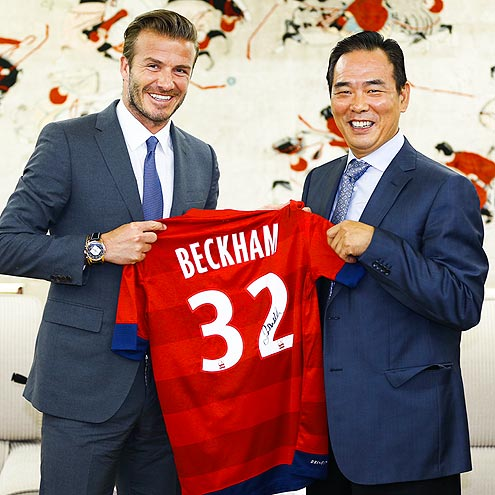 KEEPING SCORE photo | David Beckham