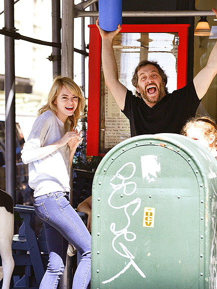 FUNNY PEOPLE photo | Emma Stone, Judd Apatow